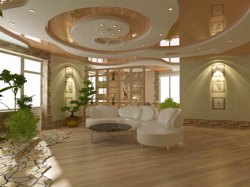 Натяжные потолочные конструкции используются в жилых помещениях уже давно.