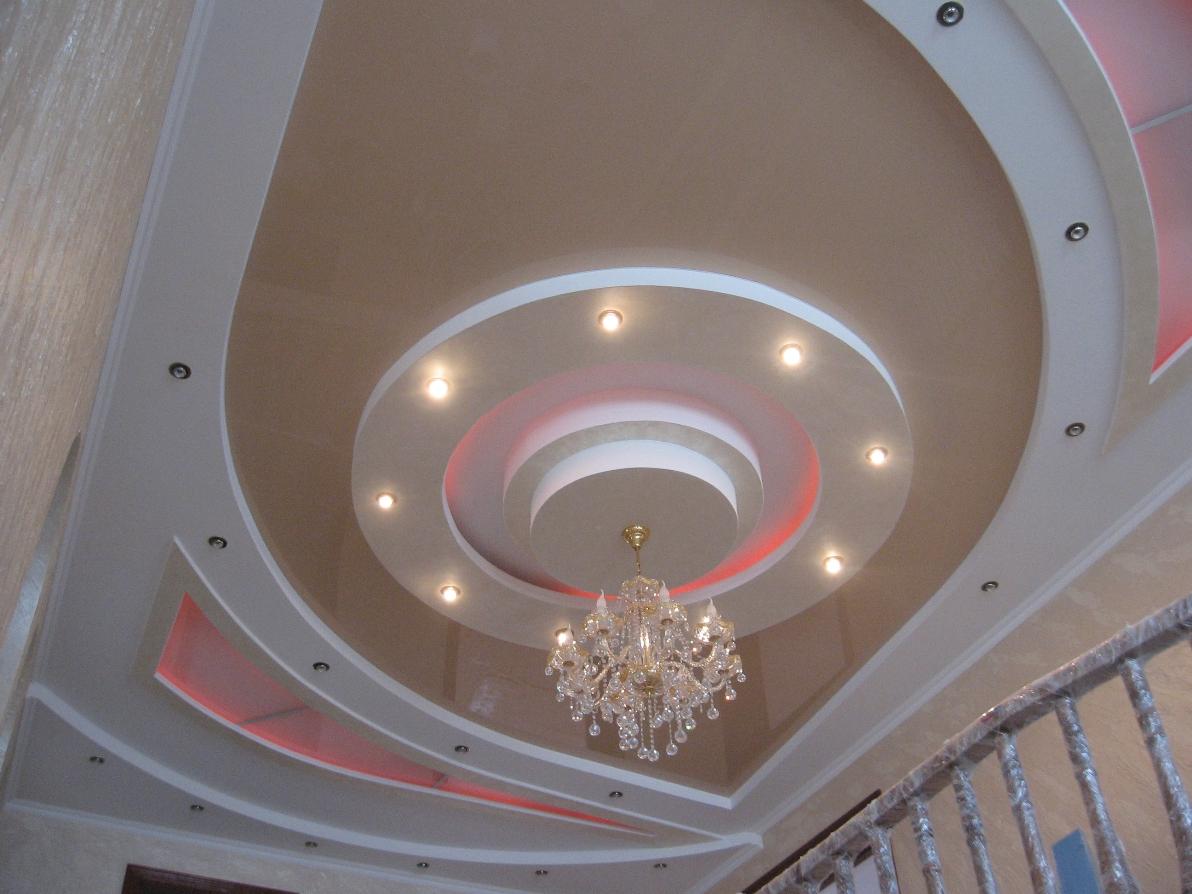потолки фото фигура